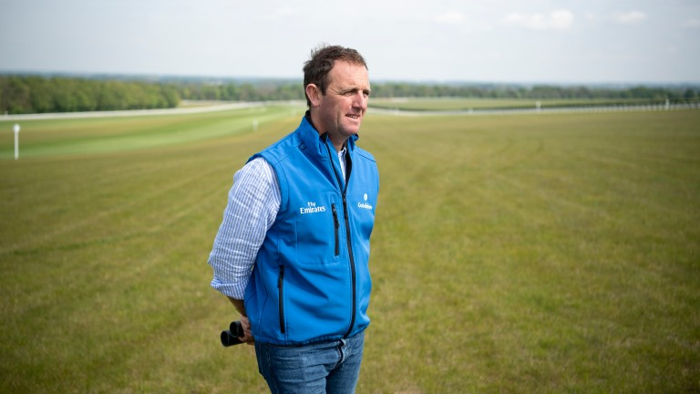 Charlie Appleby: trainer of course winner Glorious Journey