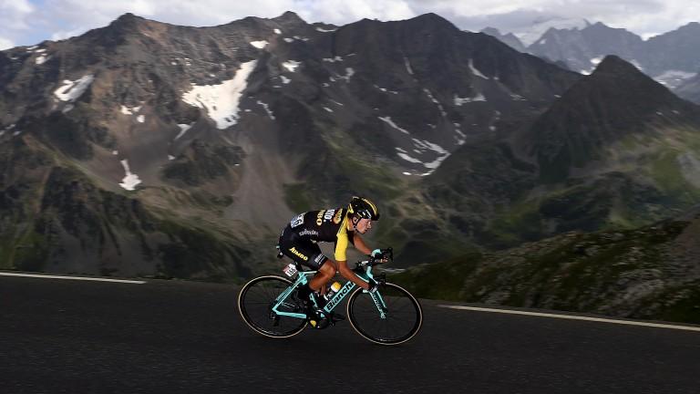 Primoz Roglic was third in the Giro d'Italia when favourite in the betting