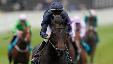 CHESTER, ENGLAND - MAY 08: Donnacha O'Brien riding Sir Dragonet  win The MBNA Chester Vase Stakes at Chester Racecourse on May 08, 2019 in Chester, England. (Photo by Alan Crowhurst/Getty Images)