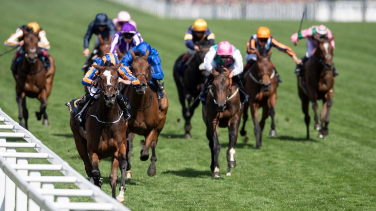 Magic Wand scored in last year's Ribblesdale Stakes at Royal Ascot