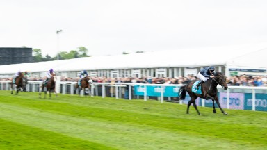 Sir Dragonet ran out a wide-margin winner of the Chester Vase for Aidan O'Brien