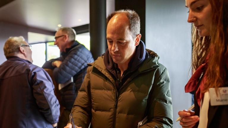 Laurent Benoit signs the seven-figure docket