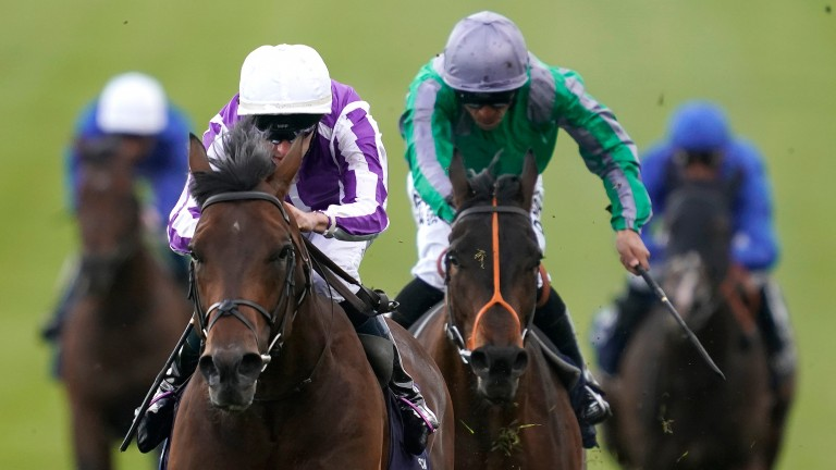King Of Change (green silks): found only Magna Grecia too good in the 2,000 Guineas