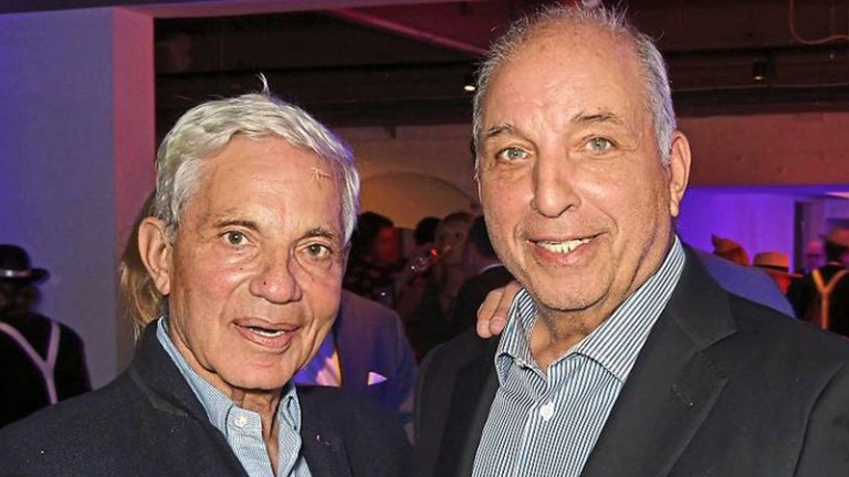 Simon (left) and David Reuben, the Arena Racing Company owners, have lost £2.664bn of their wealth