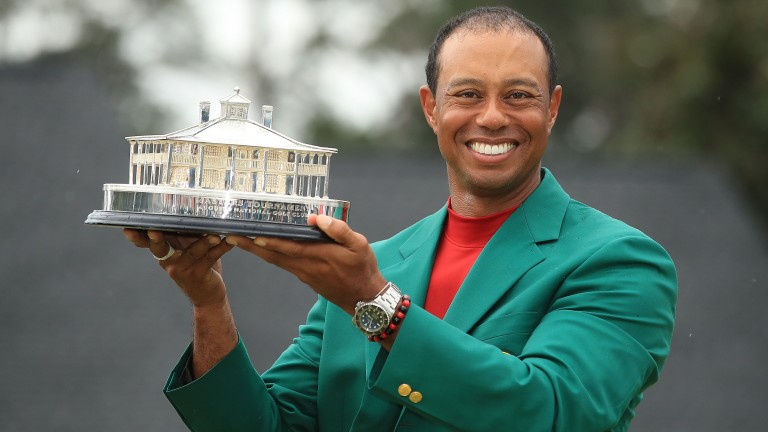 Tiger Woods's Masters victory has punters dreaming of a Grand Slam
