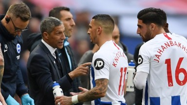 Chris Hughton led his side to the FA Cup semi-final, where they lost 1-0 to Man City