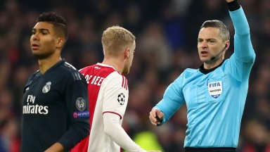 Referee Damir Skomina will take charge of the 2019 Champions League final