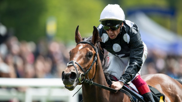 Anapurna strides clear in the Lingfield Oaks Trial