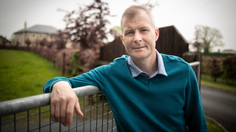 Pat Smullen: pictured at his home in Rhode, County Offaly in 2019