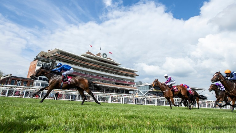 Mustashry: posted a career-best when landing the Lockinge