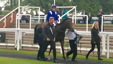 Jash and Dane O'Neill return after landing the Listed King Charles II Stakes
