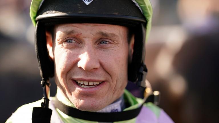 Richard Johnson: fourth winner since returning to action
