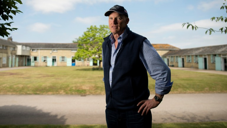 John Gosden at Clarehaven Stables: the trainer saddled horses to amass £8,516,014 in prize-money in 2018