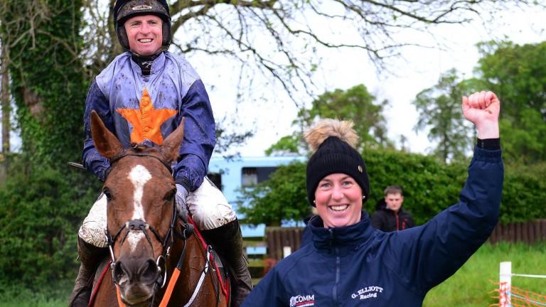 Camilla Sharples and her beloved 14-year-old Kruzhlinin were victorious at Navan