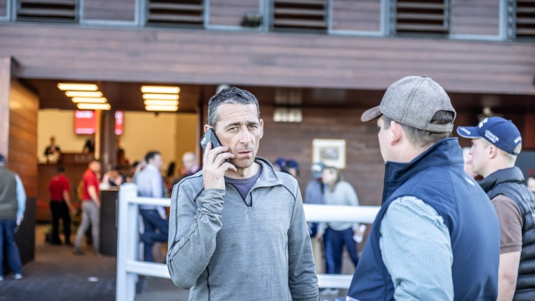 Davy Russell, pictured at Doncaster sales earlier this year