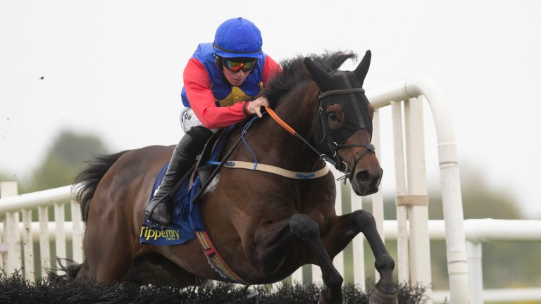 Charle Brune and Donagh Meyler on their way to winning at Tipperary on Thursday