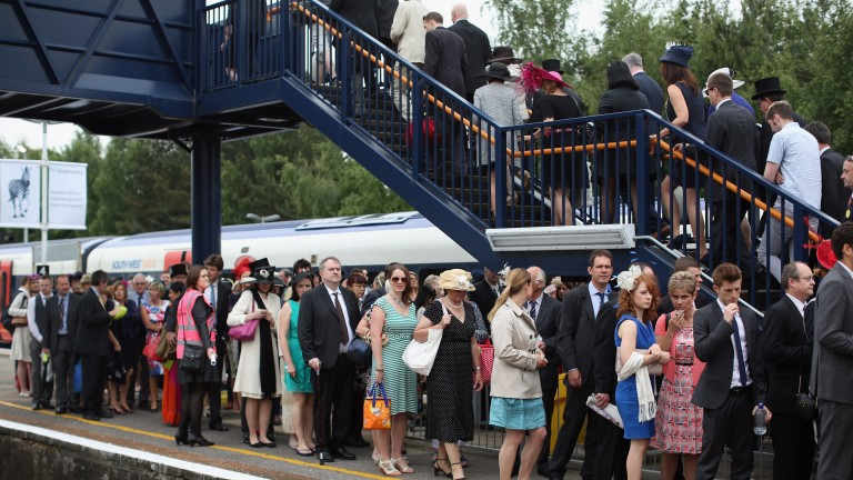 Ascot Station: Provides transportation to thousands of competitors throughout Roial Ascot Sunday