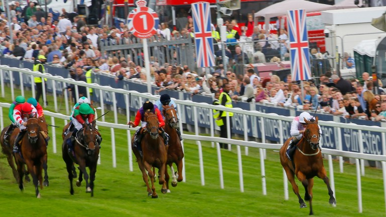 Gossiping: ran out an easy winner at Epsom in May
