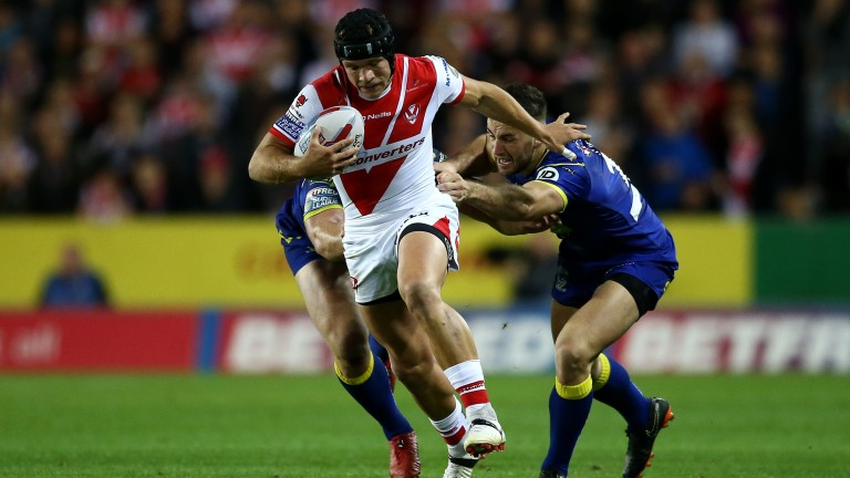 Jonny Lomax of St Helens will shoulder their creative burden