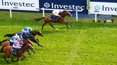 Anthony Van Dyck - Seamie Heffernan wins from the fieldThe Investec Derby Stakes (Group 1) (Colts & Fillies)Epsom 1.6.19©mark Cranhamphoto.com