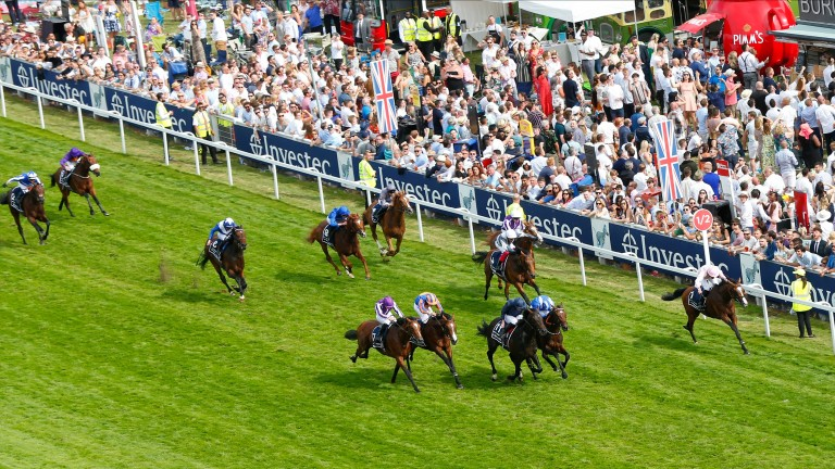 Anthony Van Dyck won a Derby in which five of the first six finishers were trained by Aidan O'Brien