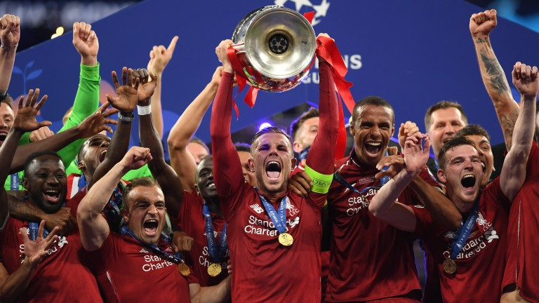 Liverpool captain Jordan Henderson (centre) has a runner at Leicester on Tuesday (1.25)
