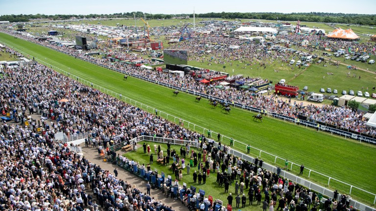 There's always something special about racing at Epsom