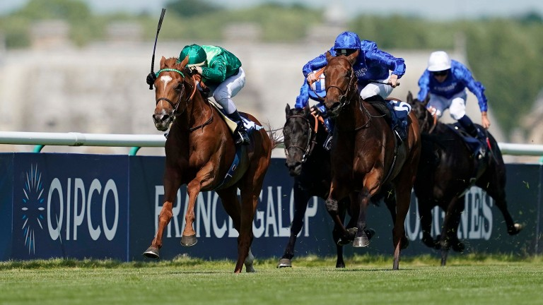 Sottsass produces an impressive display in the Prix du Jockey Club for Cristian Demuro and Jean-Claude Rouget