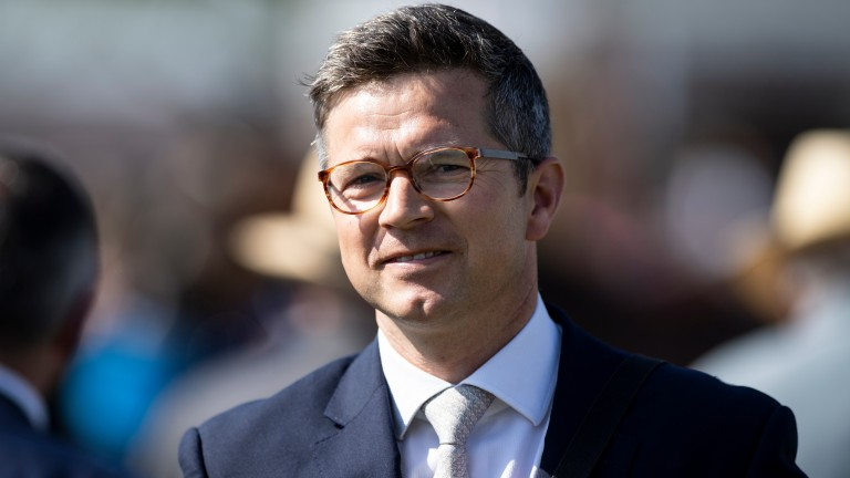 Roger Varian: has withdrawn Valyrian Steel from the Old Newton Cup