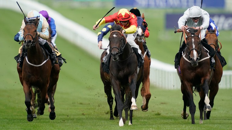 Newmarket: one of the racecourses set to host Championship Horse Racing