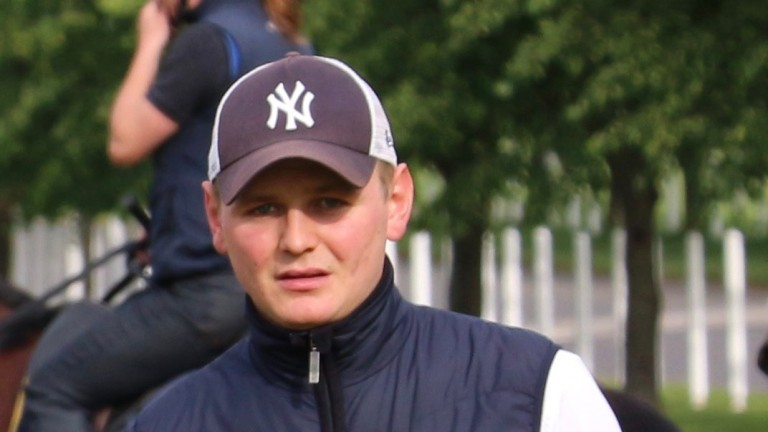 George Boughey: the up-and-coming trainer has been enjoying a superb campaign