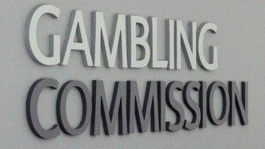 Gambling Commission logo / sign