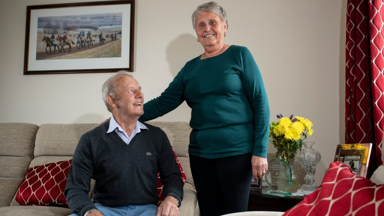 Corky and Diane Browne: got married soon after Anglo's Grand National triumph in 1966