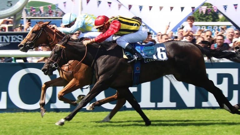 Channel: under Pierre-Charles Boudot fends off Commes in the Group 1 Prix de Diane