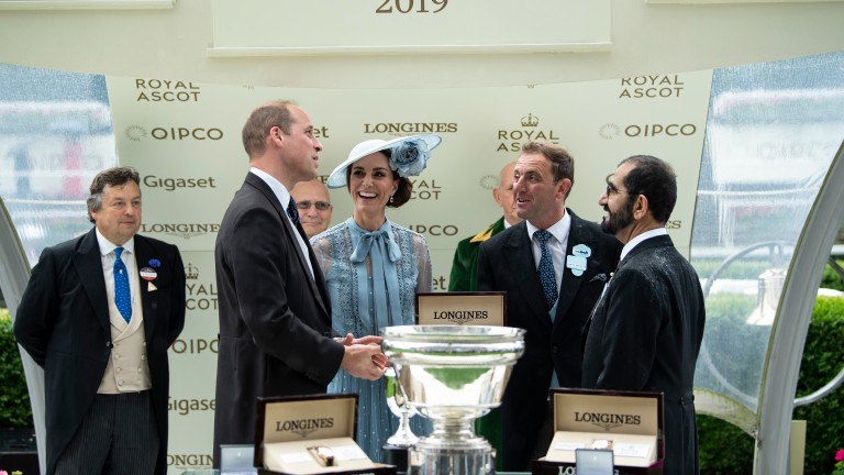 Presentation after the King's Stand StakesAscot 18.6.19 Pic: Edward Whitaker