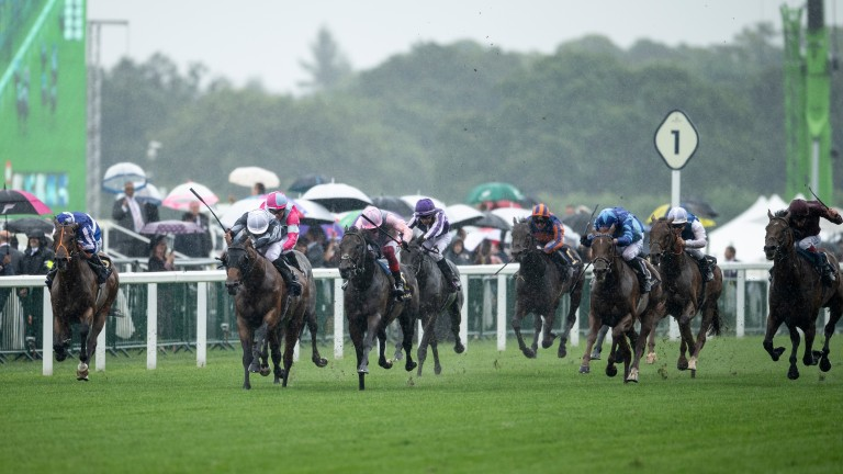 Circus Maximus (white cap) justified connections' decision to supplement him for the St James's Palace