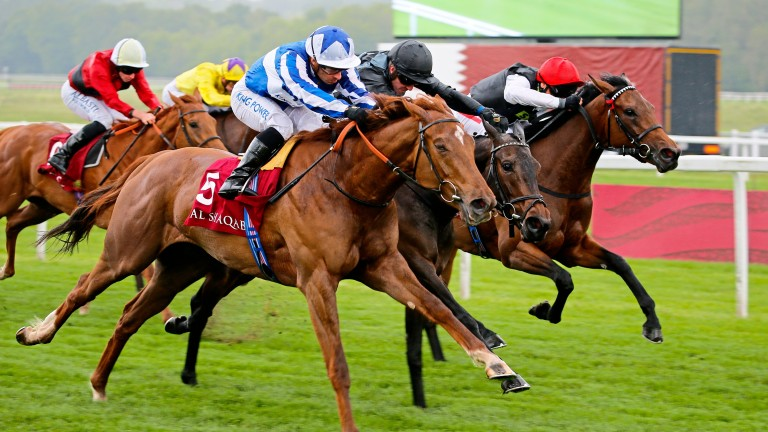 Queen Power flashes home to secure Listed honours at Newbury