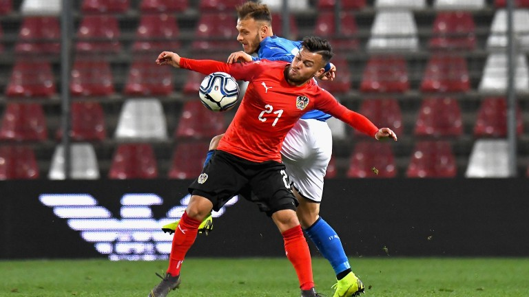 Sascha Horvath scored in Austria's win over Serbia