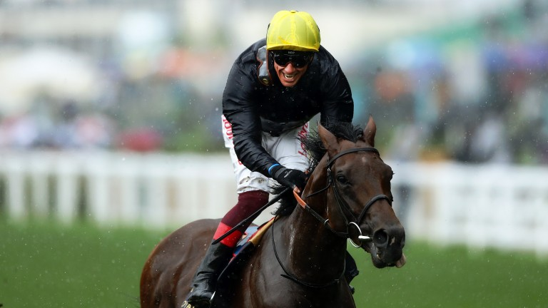 Crystal Ocean: the second Royal Ascot winner produced by his dam Crystal Star