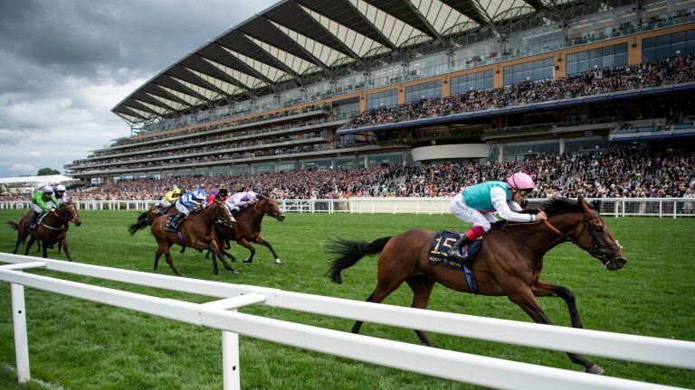 Royal Ascot: welcoming a crowd of 12,000 each day