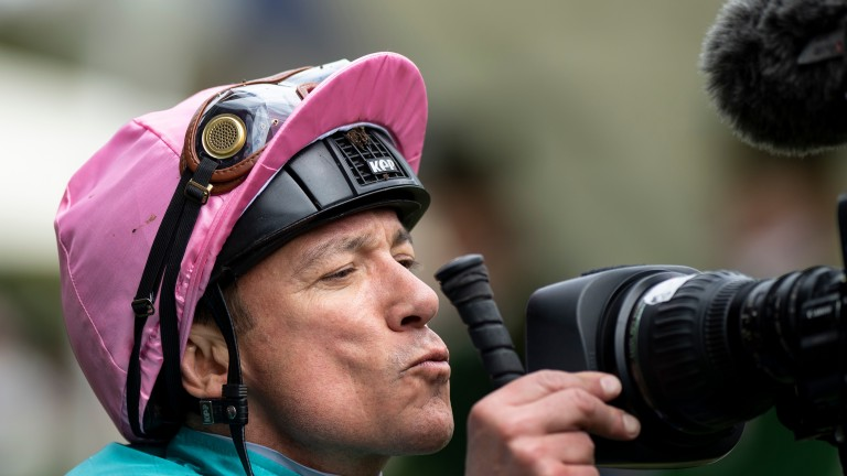 Frankie Dettori: signed breeches raised £4,900 at charity auction