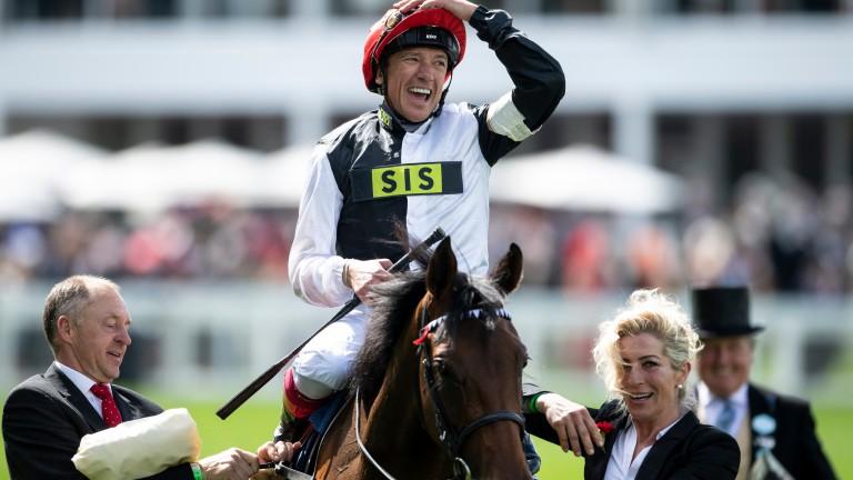 Frankie Dettori: has had six winners since the resumption of racing