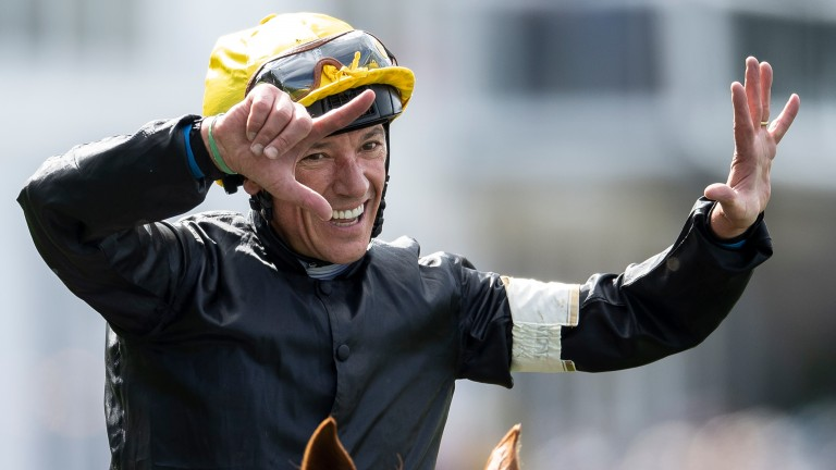 Frankie Dettori: enjoyed a memorable four-timer on Gold Cup day