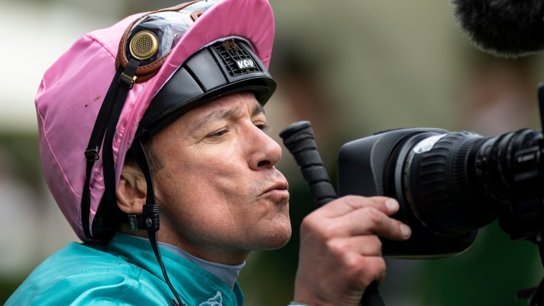 Frankie Dettori: stole the show at Ascot on Ladies' Day