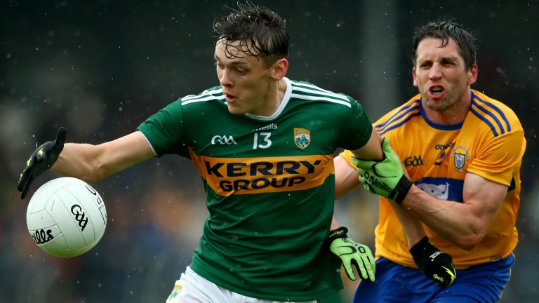 David Clifford (left) is a key man for Kerry