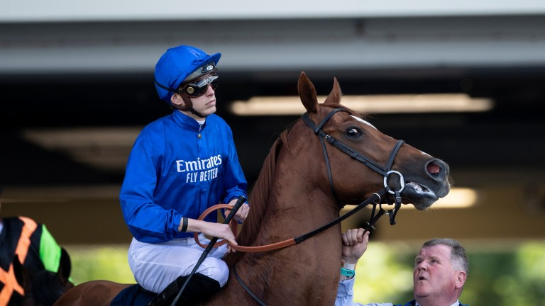 Masar: made his belated return on Saturday