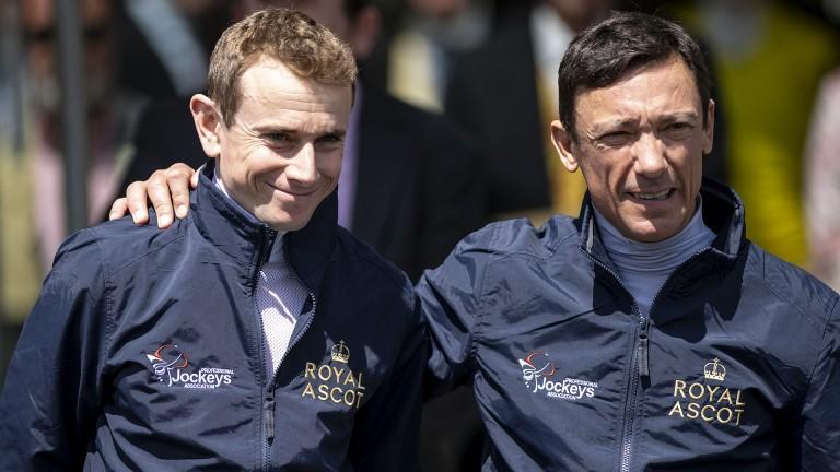 Ryan Moore and Frankie Dettori: responsible for 12 winners at Royal Ascot