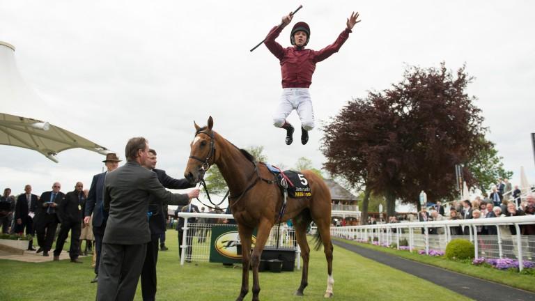 Frankie Dettori: has four rides at Killarney on Wednesday
