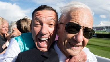 Frankie Dettori and Lester Piggott: two titans of the sport