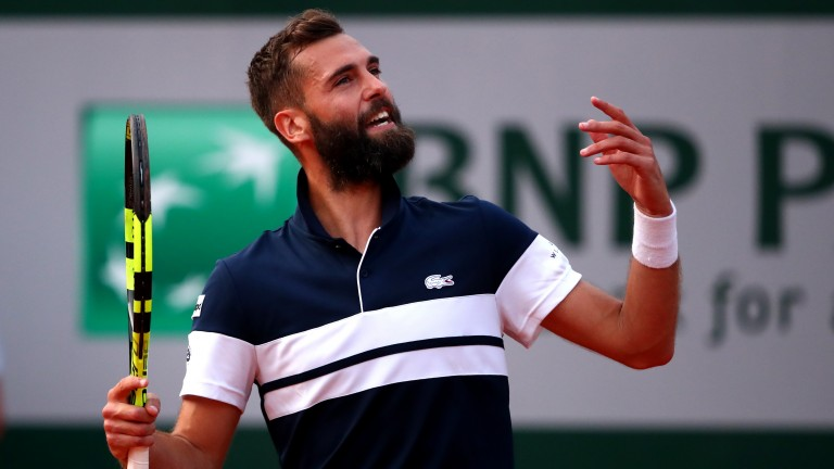 Talented Frenchman Benoit Paire